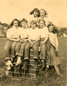 Group of Local Kids From 1952 Northstar 8 21 15