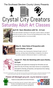 Crystal City Creators List- April to August Updated 4 21 2016