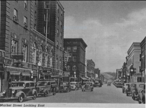 Market Street Looking East 1939