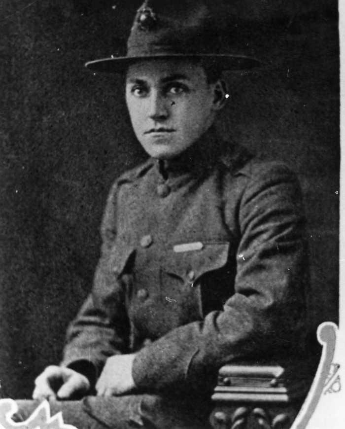 Herbert E. Woodard, U.S. Marines LH 75-0209